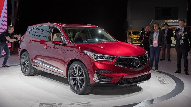 2021 Acura RDX front