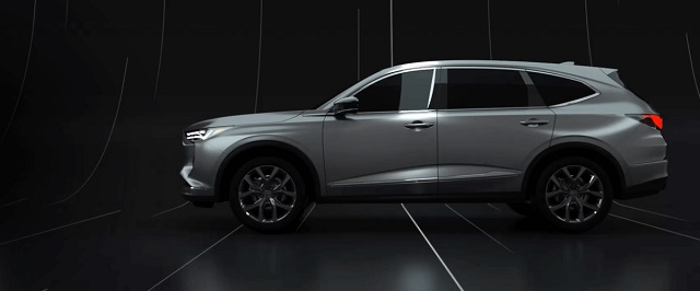 2021 Acura MDX side