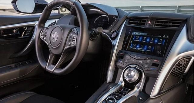 2021 Acura NSX interior