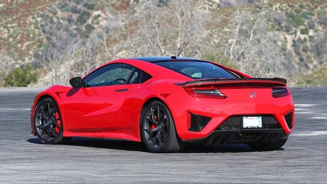 2021 Acura NSX rear