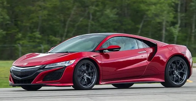 2021 Acura NSX side