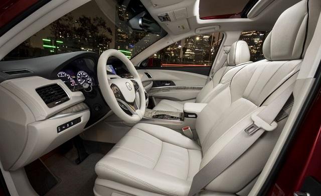 2021 Acura RLX cabin