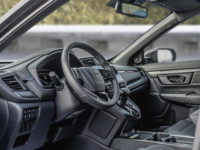 2021 Honda CR-V Black Edition interior