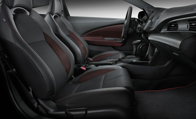2021 Honda CR-Z interior