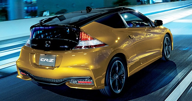 2021 Honda CR-Z rear