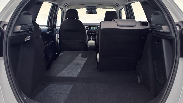 2021 Honda Fit trunk