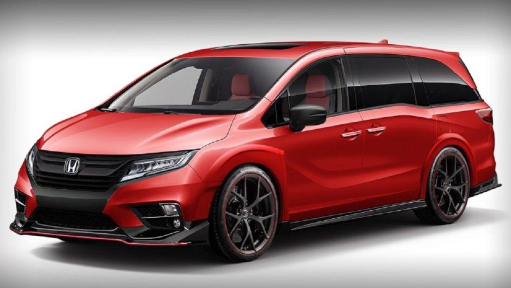 2021 Honda Odyssey Type R front