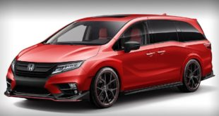 2021 Honda Odyssey Type R front