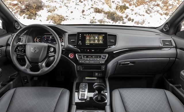 2021 Honda Passport cabin