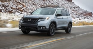 2021 Honda Passport front