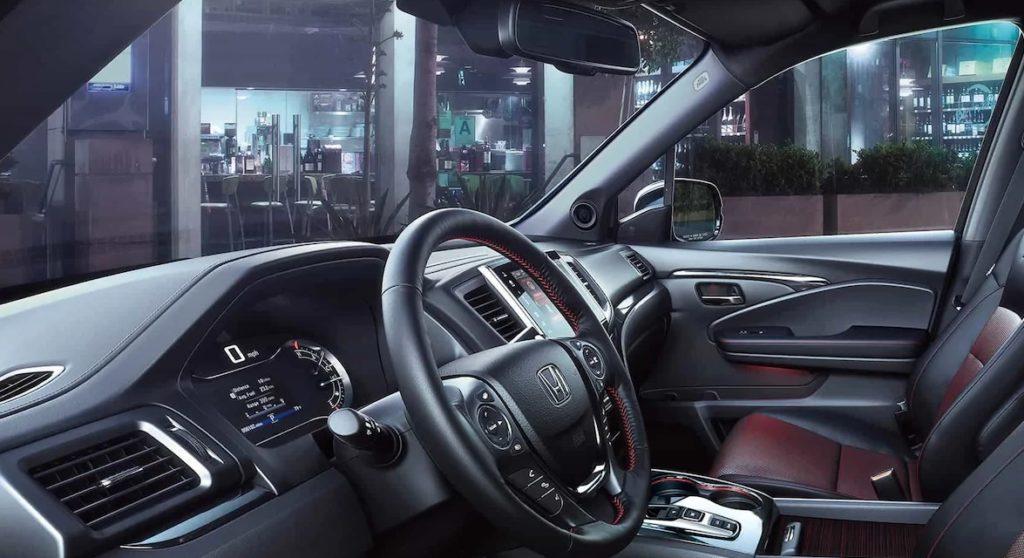 2021 Honda Ridgeline Hybrid cabin