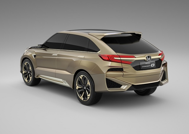 2022 Honda Crosstour rear