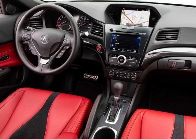 2021 Acura ILX cabin