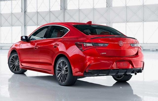 2021 Acura ILX rear