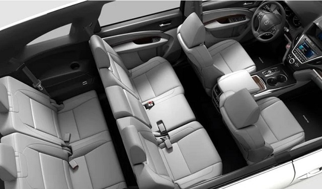2021 Acura MDX Sport Hybrid cabin