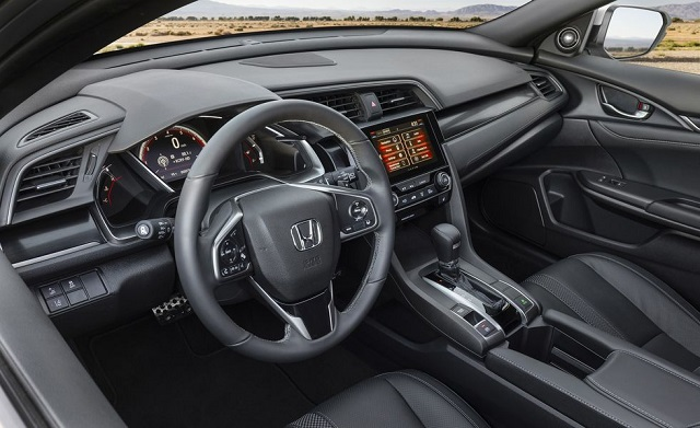 2021 Honda Civic cabin