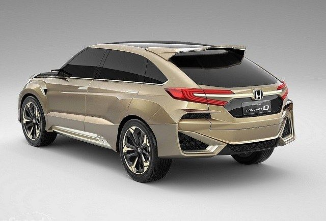 2021 Honda Crosstour rear