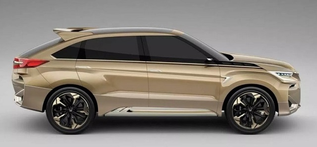 2021 Honda Crosstour side