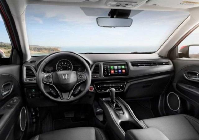 2021 Honda HR-V cabin