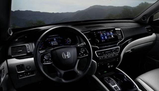 2021 Honda Pilot Hybrid cabin