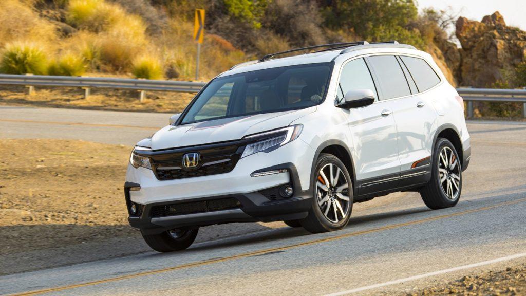2021 Honda Pilot Hybrid Front