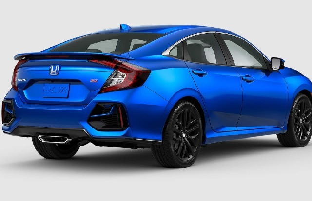 2021 Honda Civic Si rear