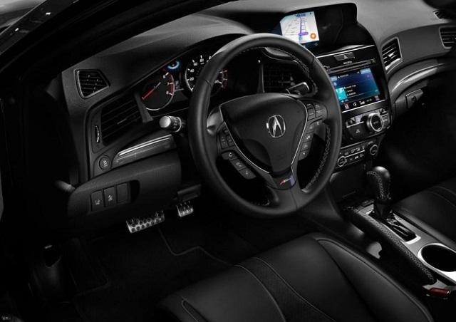 2022 Acura ILX cabin