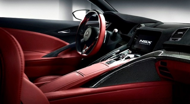2022 Acura NSX Type R cabin