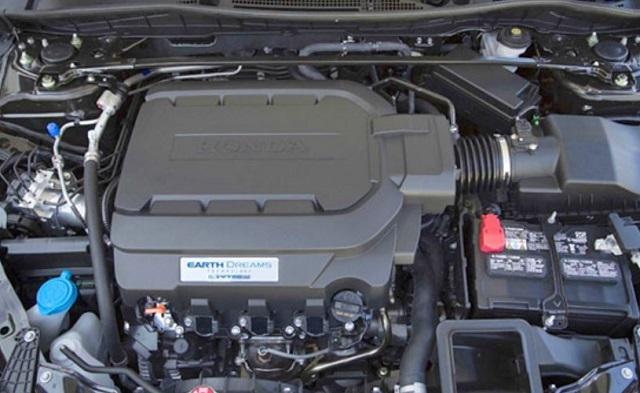 2022 Honda Crosstour engine