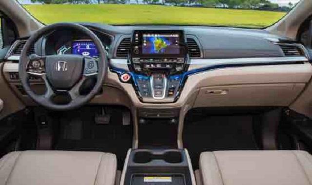 2022 Honda Odyssey cabin