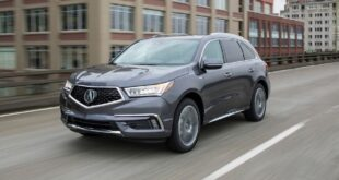 2021 Acura MDX Hybrid front
