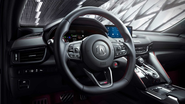 2021 Acura TLX Type S cabin