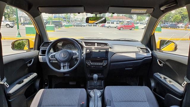 2021 Honda Brio cabin