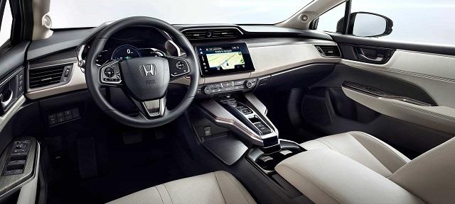 2021 Honda Clarity cabin