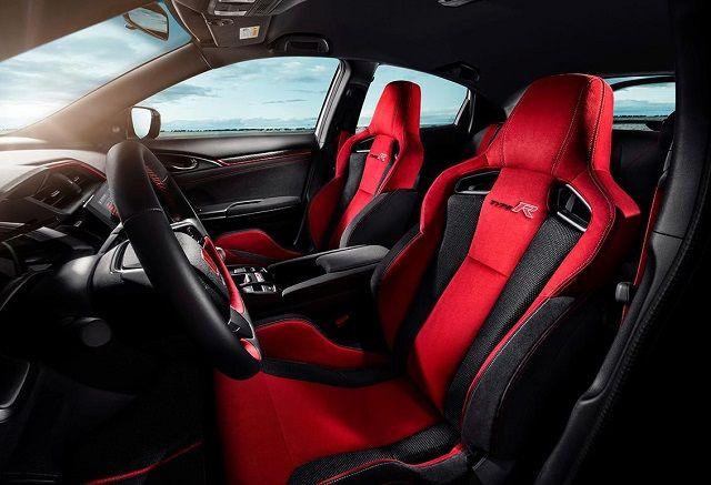 2021 Honda Ridgeline Type R seats