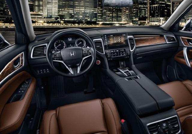 2021 Honda UR-V cabin