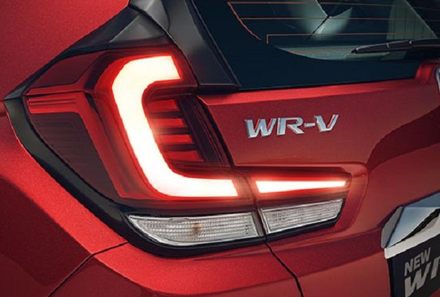 2021 Honda WR-V rear