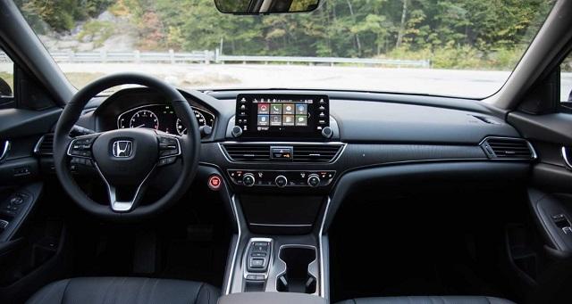 2022 Honda Accord cabin