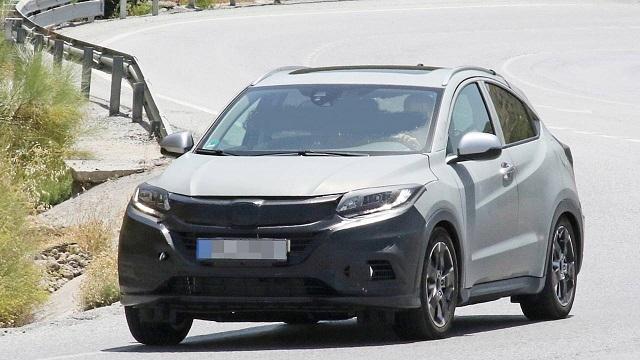 2022 Honda HR-V front