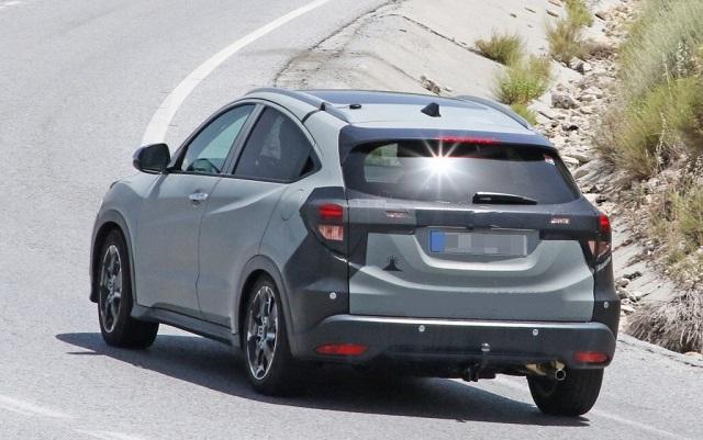 2022 Honda HR-V spy photo