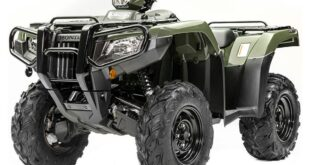2020 Honda FourTrax Foreman 4×4 front