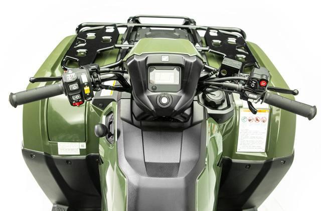 2020 Honda FourTrax Foreman 4×4 dash