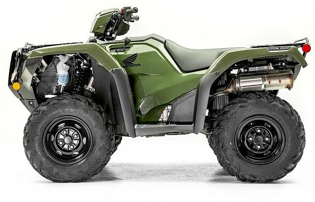 2020 Honda FourTrax Foreman 4×4. side