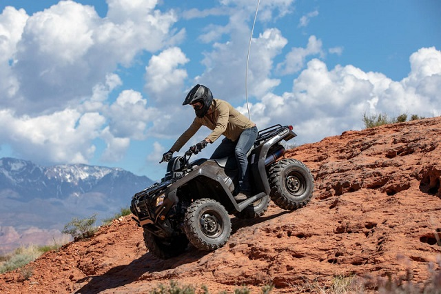 2020 Honda FourTrax Rancher side