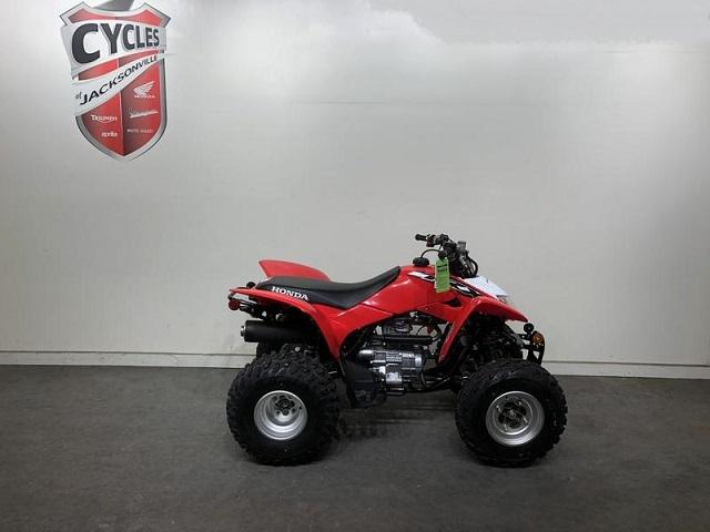 2020 Honda TRX250X side