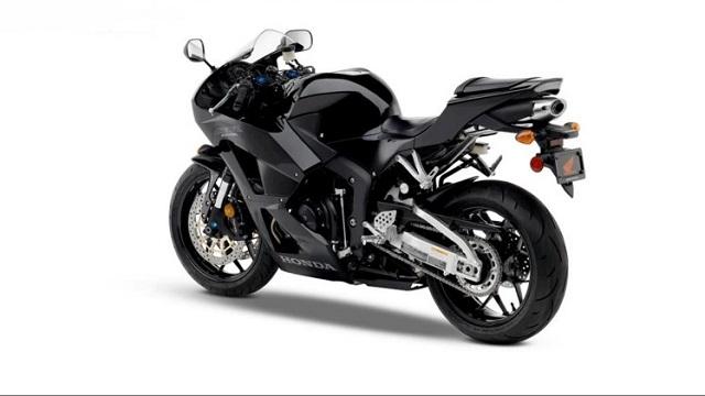 2021 Honda CBR600RR rear