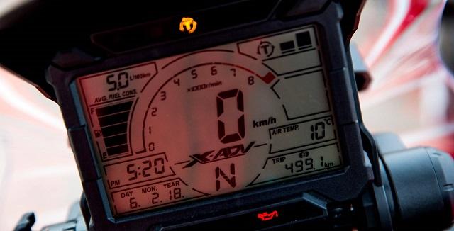 Honda X-ADV 2021 display