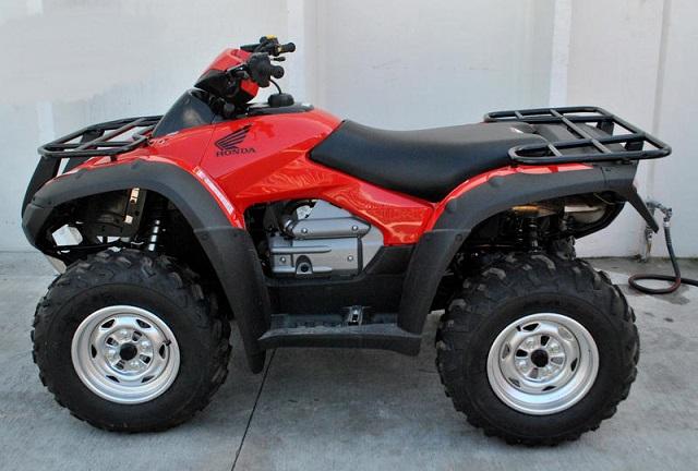 2020 Honda FourTrax Rincon 4x4 side
