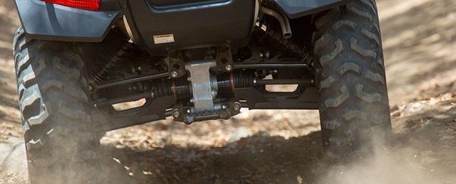 2020 Honda FourTrax Rincon 4x4 suspension