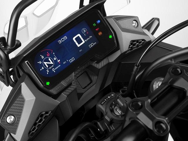 2021 Honda CB500X display
